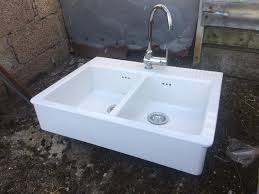 Belfast Sink In Bathroom Double Belfast Sink In Armagh County Armagh Gumtree