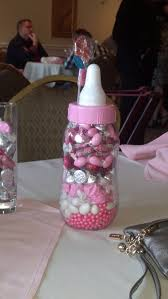 baby bottle centerpieces baby shower centerpiece for table its actually a piggy bank