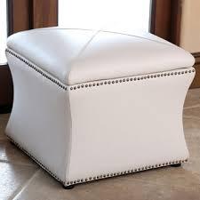 Ivory Storage Ottoman Abbyson Monica Pedersen Camel Leather Storage Ottoman Free