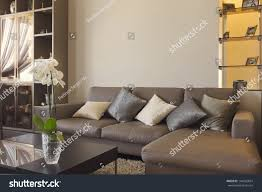 big comfortable living room sofa luxury stock photo 144555824