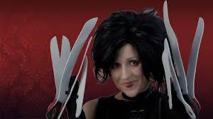 edward scissorhands costume miss edward scissorhands costume makeup tutorial