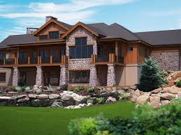 Walkout Ranch House Plans Craftsman Style House Plans With Walkout Basement Basements Ideas