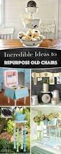 Repurpose Old Furniture by 20 Incredible Ideas To Repurpose Old Chairs And Transform Them