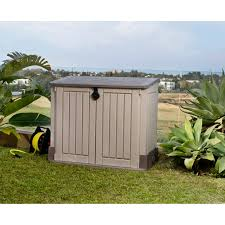 keter 17197662 store it out midi outdoor all weather patio 4 x 2