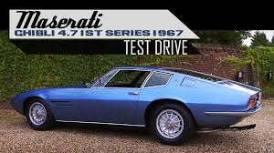 ghibli maserati blue maserati ghibli 4 7 1st series 1967 full test drive in top gear