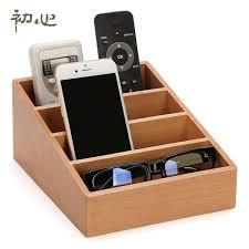 high quality wooden storage box luxury remote holder