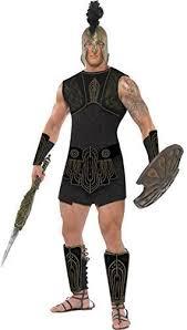 Gladiator Halloween Costume Mens Achilles Greek Roman Gladiator God Myths Legends