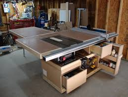 Woodworking Magazine Table Saw Reviews by Saw Station Completed Kinda By David Drummond Lumberjocks