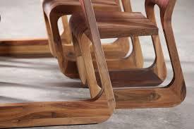 Cherry Wood Furniture Contemporary Table Oak Walnut Cherrywood Steek Artisan