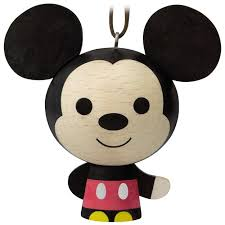 mickey mouse wood ornament keepsake ornaments hallmark