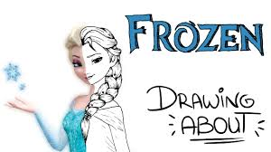 frozen drawing