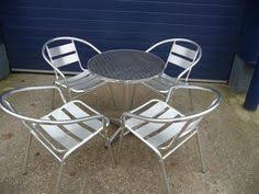 Aluminium Bistro Chairs Aluminium Bistro Chairs And Tables First Choice Event Hire