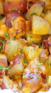 cooker cheesy bacon ranch potatoes recipe ranch cooker and