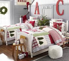 dear santa quilt pottery barn kids