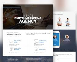 website templates free download psd digital marketing agency website template free psd download