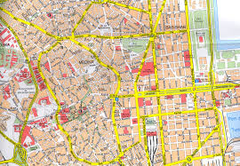 map of tunisia with cities stadskartor reseportal city maps