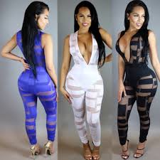 white jumpsuits and rompers for fashion womans jumpsuits rompers nightclub