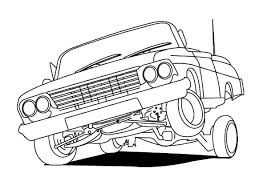 lowrider cars hydraulics coloring pages download u0026 print