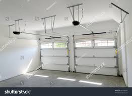 Building A Two Car Garage Residential House Two Car Garage Interior Stock Photo 85743676
