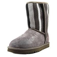 amazon com ugg australia s boots mid calf ugg womens woven suede boot this is an amazon