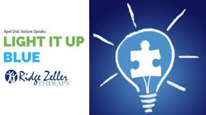 autism speaks light it up blue ridge zeller therapy how to light it up blue liub with autism