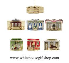 the rooms of the white house ornament collection is an ongoing