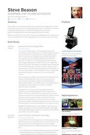 Cto Sample Resume by Chief Technology Officer Cv Beispiel Visualcv Lebenslauf Muster