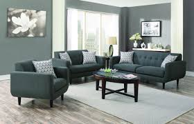 Modern Furniture Los Angeles Ca Stansall Grey Fabric Sofa Steal A Sofa Furniture Outlet Los