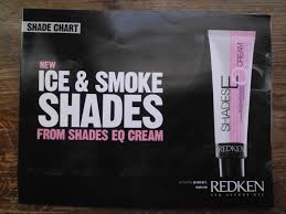 Color Shade by New Redken Shades Eq Cream Ice U0026 Smoke Collection Hair Color Shade
