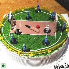 theme cakes cricket theme cake express home delivery across jaipur