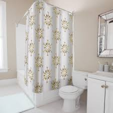 Silver Shower Curtains Silver Stars Shower Curtains Zazzle