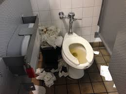 why do people do this please flush your toilet paper i u0027m a