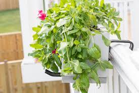 build a deck railing planter free build plans