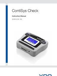 flc contisys check user manual en electrical connector tire