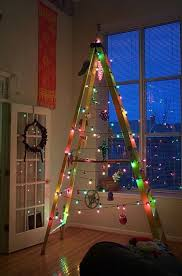 ladder christmas tree 35 cool and creative diy christmas tree ideas you surely don t