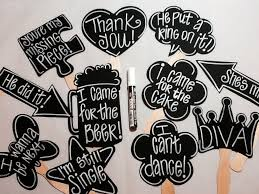 photo booth props chalk marker plus 10 blank chalkboard photo booth props