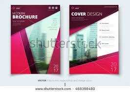 poster design corporate business template brochure stock vector