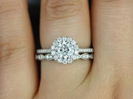 Halo Wedding Rings by Appealing Round Engagement Rings With Halo 26 On Home Decorating