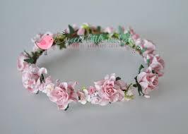 bridal headwear bridal crown flower crown flowergirl crown flower crown
