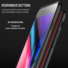 Glass Back by Aliexpress Com Buy Rock Tempered Glass Back Case For Iphone 7 8