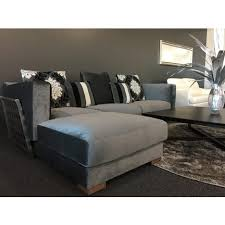 canapé moin cher alba angle gauche gris canapé 3 places méridienne et coussin
