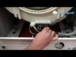 how to test and fit a washing machine heater youtube
