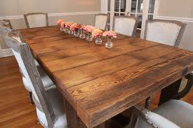 barnwood dining table dining room traditional with reclaimed