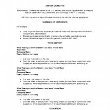 goals on resumes template resume career objectives examples