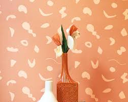 Removable Wallpaper For Renters Removable Wallpaper Pinstripe Floral Perfect For Renters