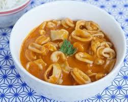 cuisiner le calamar recette calamars à l armoricaine