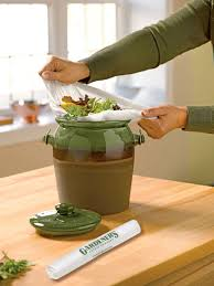Compost Canister Kitchen Compostable Bags Bio Bags For The Kitchen Gardeners Com
