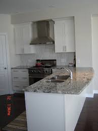 Kitchens With Granite Countertops White Cabinets Bianco Antico Granite Countertops White Cabinets Stainless