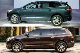buick enclave 2016 2018 buick enclave ditches portholes embraces class automobile