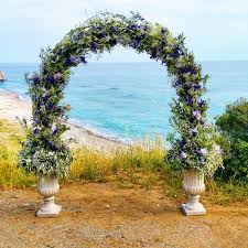 Wedding Archway Civil Wedding Arch Annivia Gardens In Paphos Cyprus